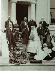 Wedding of George Noble Plunkett and Josephine Cranny at Muckross